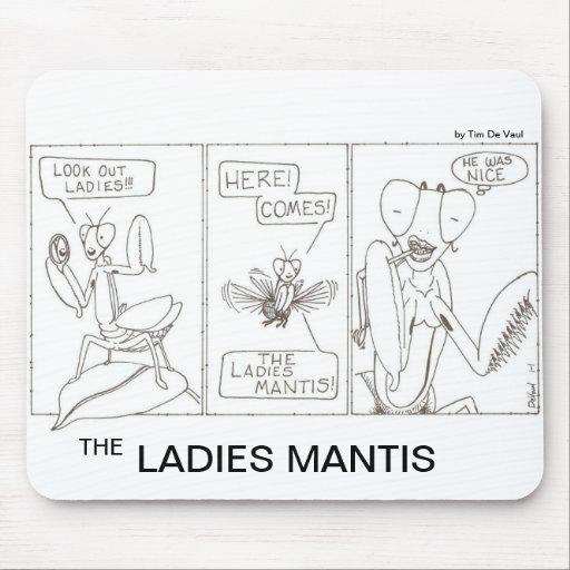 El predicador de las señoras tapetes de ratón
