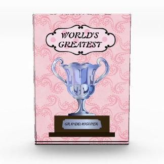 El premio más grande de la nieta del mundo