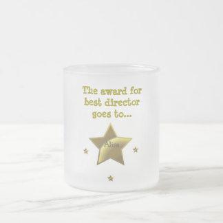 El premio para el mejor director: Alisa Taza De Cristal