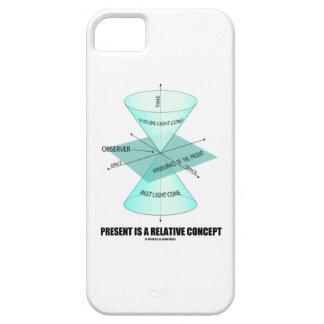 El presente es un concepto relativo (la física iPhone 5 fundas