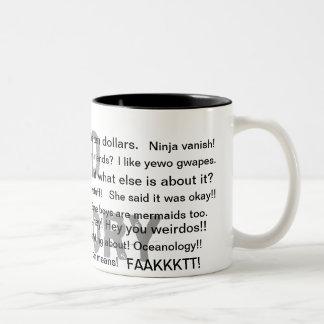 El presente perfecto taza de café