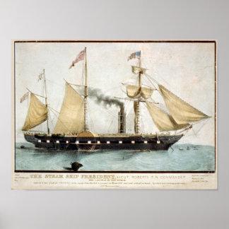 El presidente 2 poster de la nave del vapor