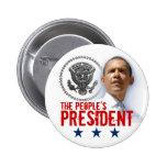 El presidente de la gente pin