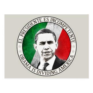 El Presidente Es Incompetente Postcard