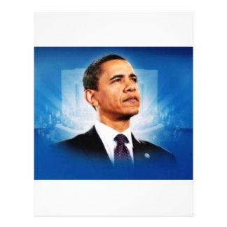 El presidente Obama Membrete A Diseño