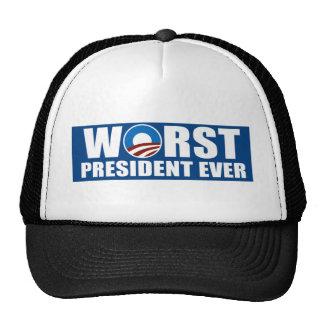 El presidente peor Ever Gorro