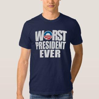 El presidente peor Ever Poleras