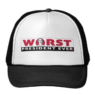el presidente peor gorro de camionero