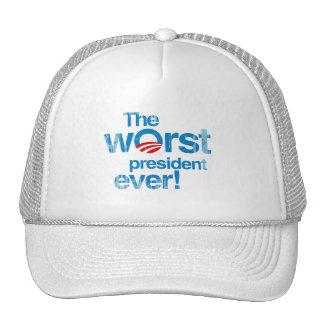 El presidente peor nunca Faded.png Gorro