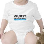 el presidente peor nunca traje de bebé