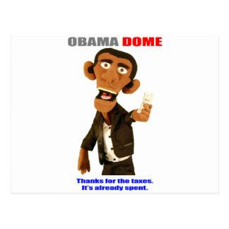 El presidente quiere sus fondos provenientes de im tarjeta postal