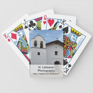 El Presidio de Santa Barbara Bicycle Playing Cards