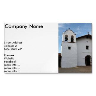El Presidio de Santa Barbara Business Card Magnet