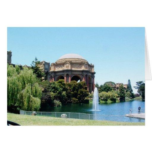 El Presidio en San Francisco Tarjeta De Felicitación