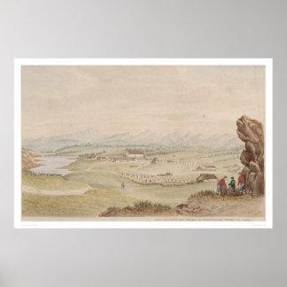 El Presidio y el pueblo de Monterey (1104) Posters