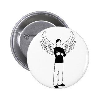 El prestatario con alas pins