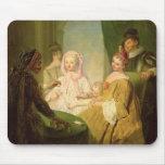El prestidigitador, 1720-25 alfombrilla de raton
