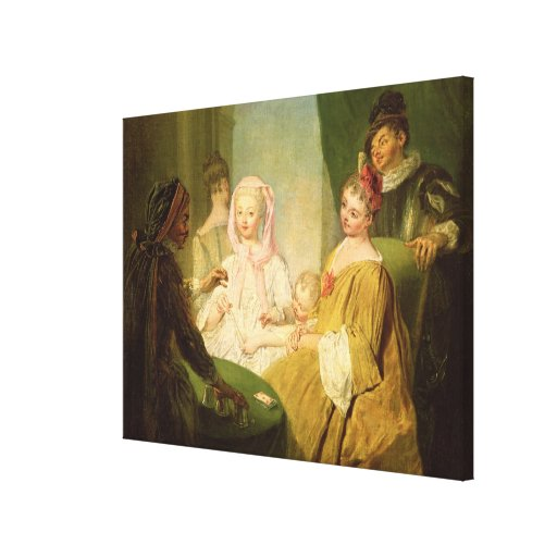 El prestidigitador, 1720-25 impresiones en lona