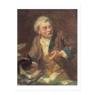 El prestidigitador (aceite en la lona) (pares de postal