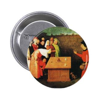 El prestidigitador de Hieronymus Bosch Pins
