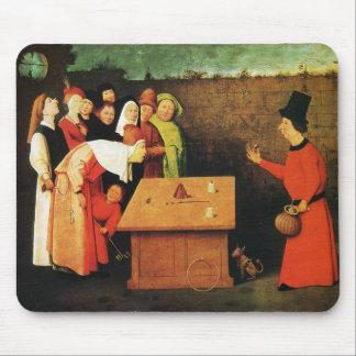 El prestidigitador de Hieronymus Bosch Tapetes De Raton