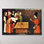 El prestidigitador. Por Hieronymus Bosch Impresiones