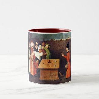 El prestidigitador tazas de café