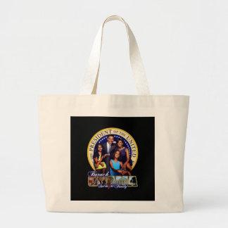 El primer bolso de la familia bolsa tela grande