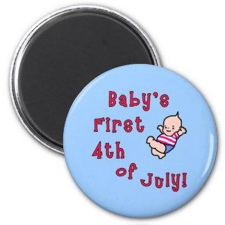 El primer cuarto del bebé de los productos de juli imán de frigorífico