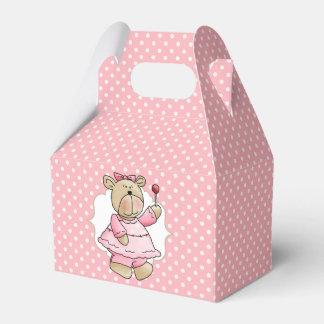 El primer cumpleaños de peluche del bebé de caja para regalos