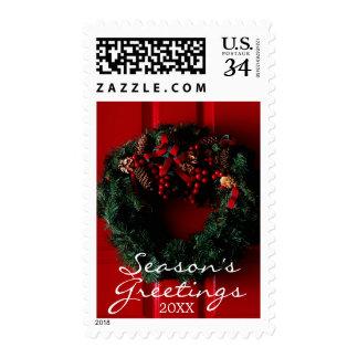 el primer del navidad enrruella el colgante en una sellos