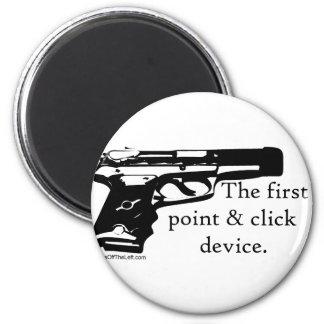 El primer dispositivo del punto y del tecleo imán redondo 5 cm