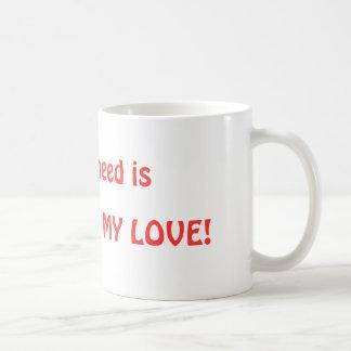 El primer fecha la idea divertida del regalo para taza de café