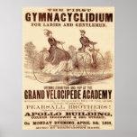 El primer Gymnacyclidium (1869). Posters