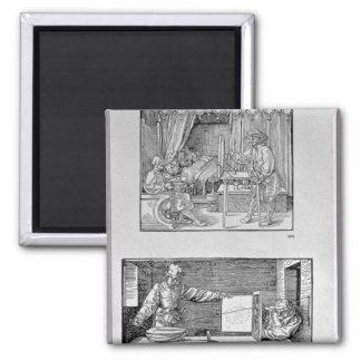 El primer libro técnico del artista imán cuadrado