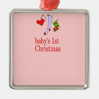 el primer navidad de los babys añade el nombre y l ornato