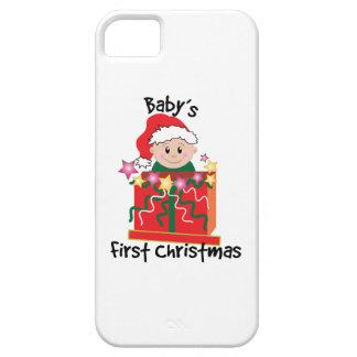 El primer navidad del bebé iPhone 5 Case-Mate cárcasa