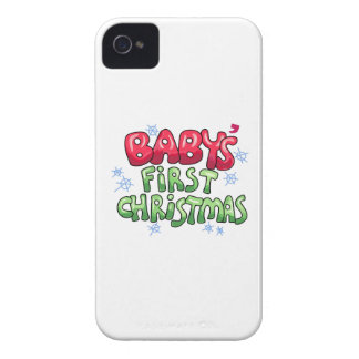 El primer navidad del bebé Case-Mate iPhone 4 protector
