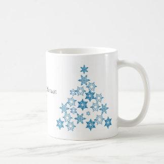 El primer navidad del bebé personalizó la taza de