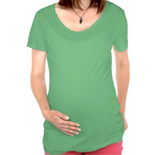 El primer navidad del topetón camisetas de maternidad