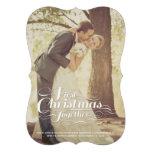 El primer navidad juntos casó saludos del día de f