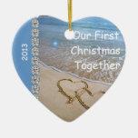 El primer navidad JUNTOS VARA 2013 ORNAMEN DE ENCA Ornamento Para Arbol De Navidad