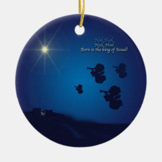 El primer Noel Ornamentos Para Reyes Magos