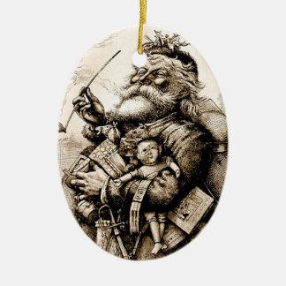 El primer ornamento de Papá Noel Adorno