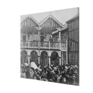 El primer parque Races, 1903 de Phoenix Impresion En Lona