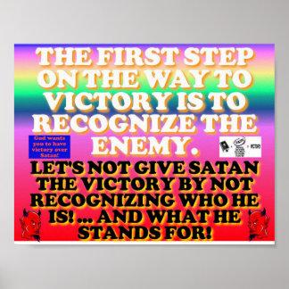 El primer paso en la manera a la victoria póster
