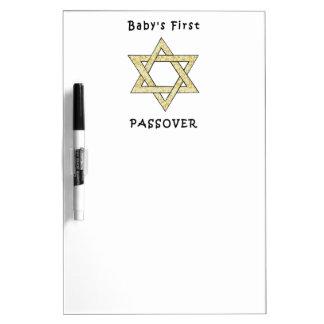El primer Passover del bebé Pizarra Blanca