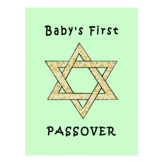El primer Passover del bebé Tarjetas Postales