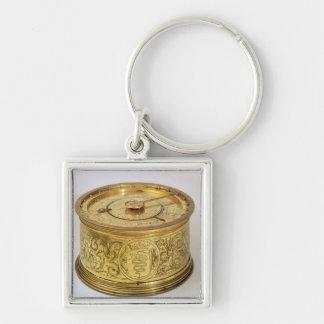 El primer reloj de resorte con el caracol 1525 llavero