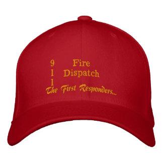 El primer respondedor gorra de béisbol